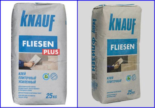 Плиточный клей Knauffliesen