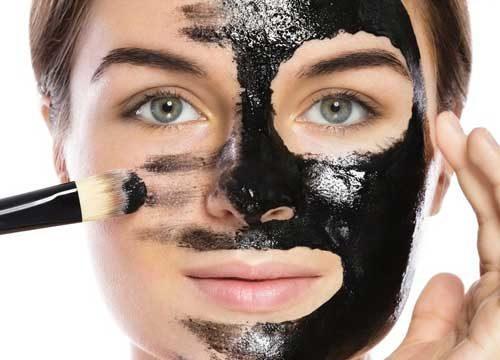 Как наносить черную маску