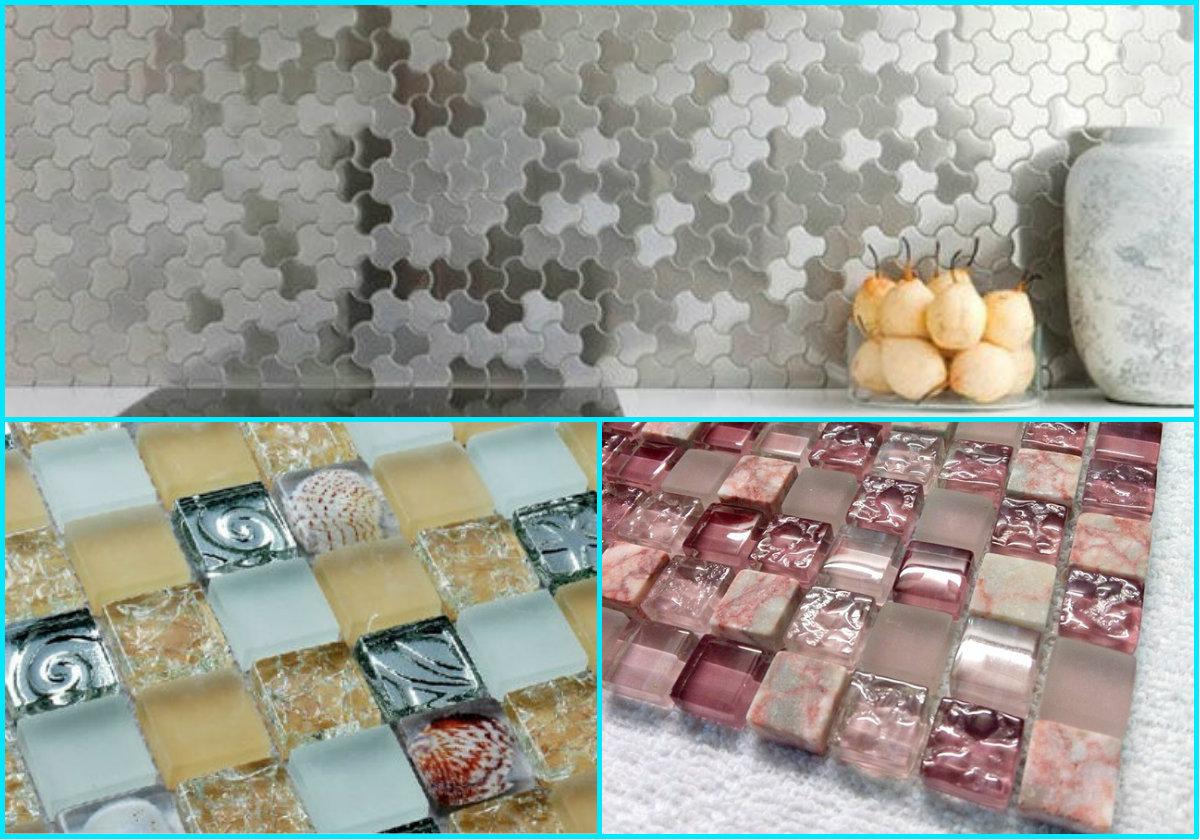 Варианты мозаичной плитки