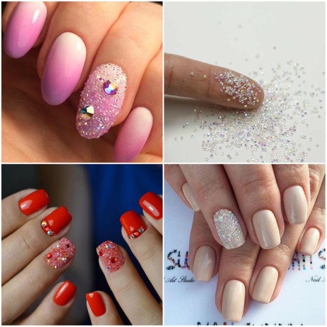 Дизайн ногтей с пикси