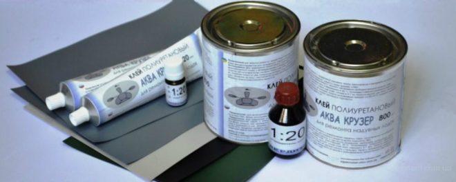 Полиуретановый клей «Аква Крузер для ПВХ-лодок»